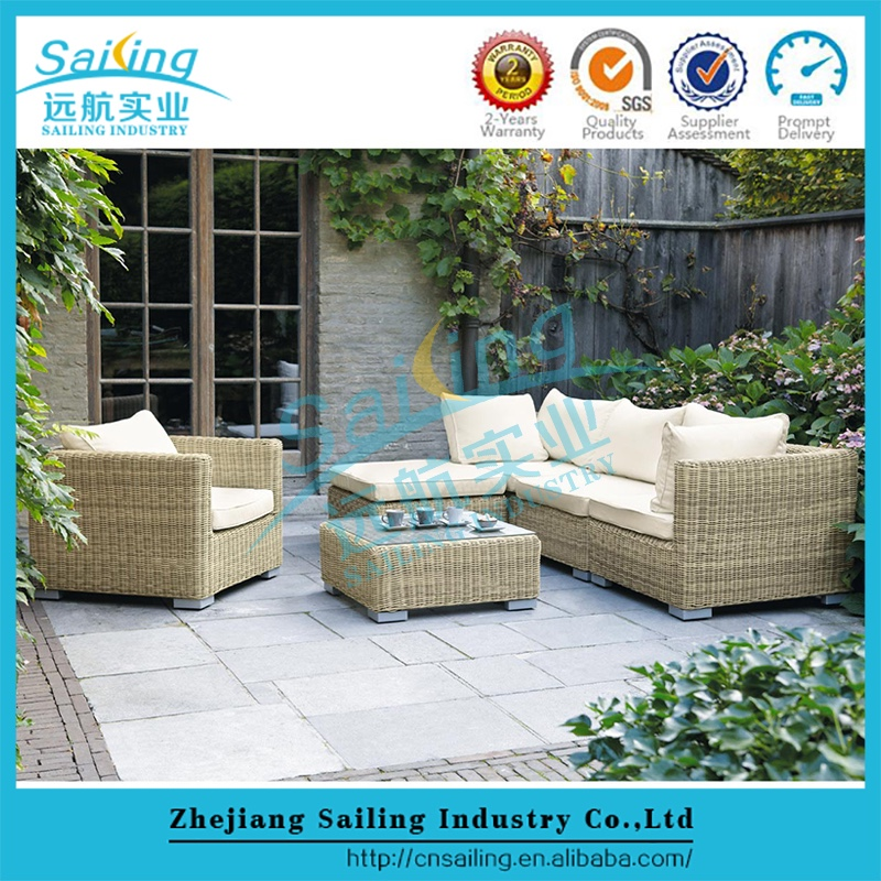 Sailing Unique Furniture Garden Seat Round Shape Outdoor Sofa