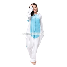 Wholesale adult sexy Colorful Unicorn onesie pajamas/soft flannel onesie pajamas