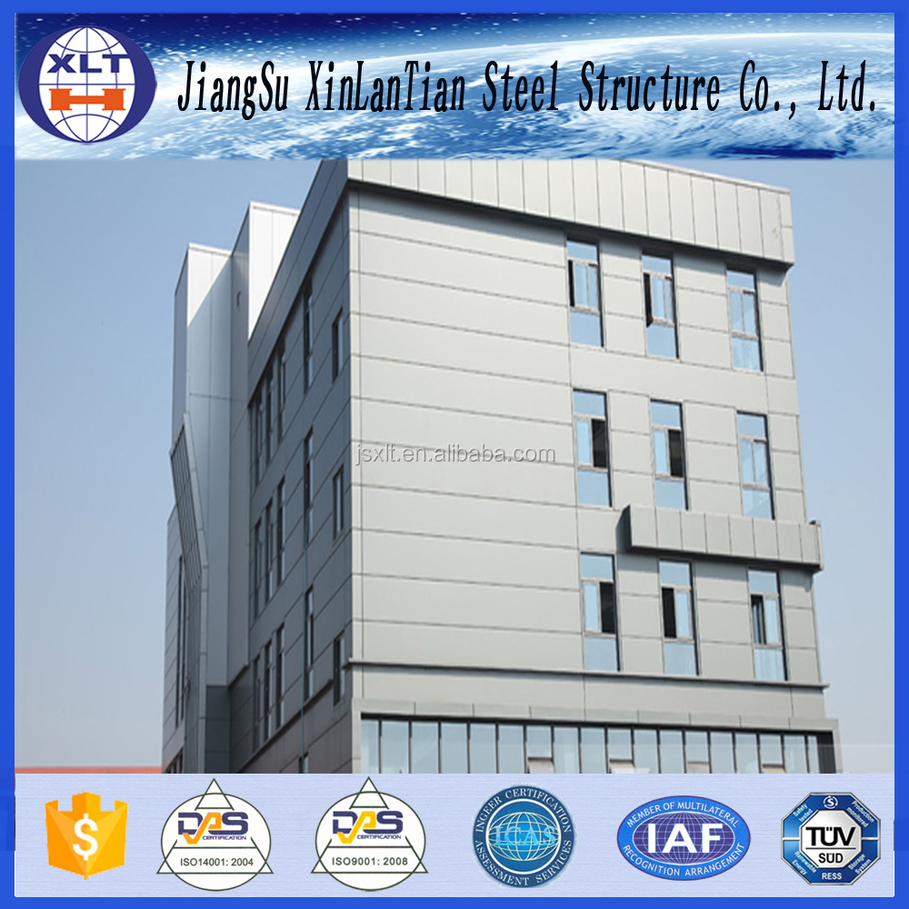 China Supplier Pre Fabricated Steel Structure School building