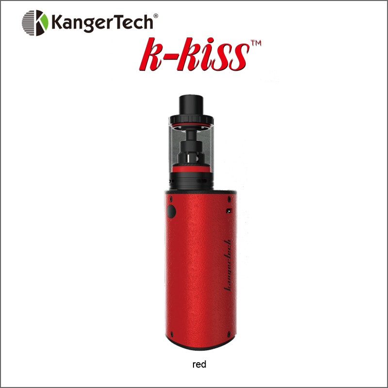 2017 New Elektronik Sigara Kanger K-KISS Starter Kit Built-in Battery 6300mAh 4.5ml Top Filling Tank SSOCC Coil