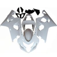 bodywork for 2005 GSXR600 fairing kit for gsxr750 2004 K4 04-05 suzuki bodywork fairing ABS Plastic pure white
