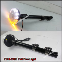 12V LED Motorcycle Warning Light/Emergency Signal Tail Light/Flexible Pole Strobe Light for Motorcycle TBH-638E