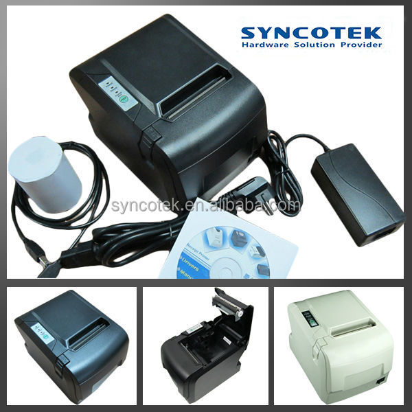 auto cutter desktop POS linux 80mm thermal printer ticket SP-POS88V