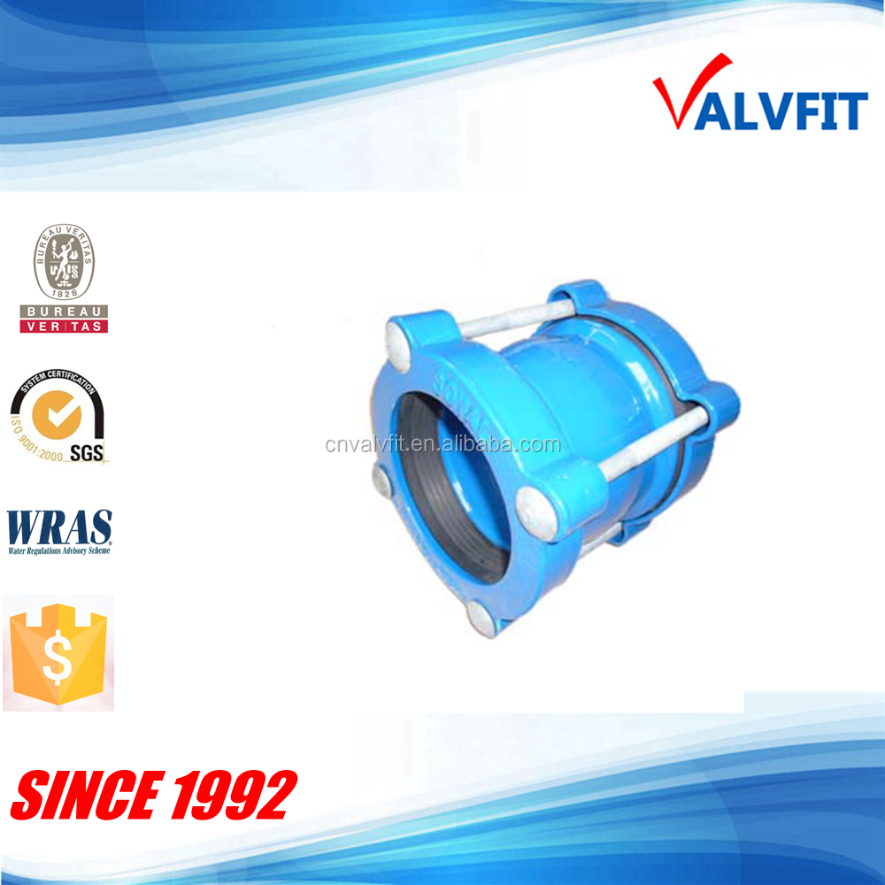 Ductile cast iron flexible coupling pipe fitting Viking johnson coupling