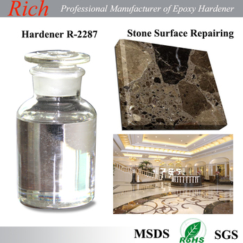 Hand Lay-up FRP Epoxy Curing Agent, Stone repairing Epoxy adhesives Epoxy Hardener R-2287