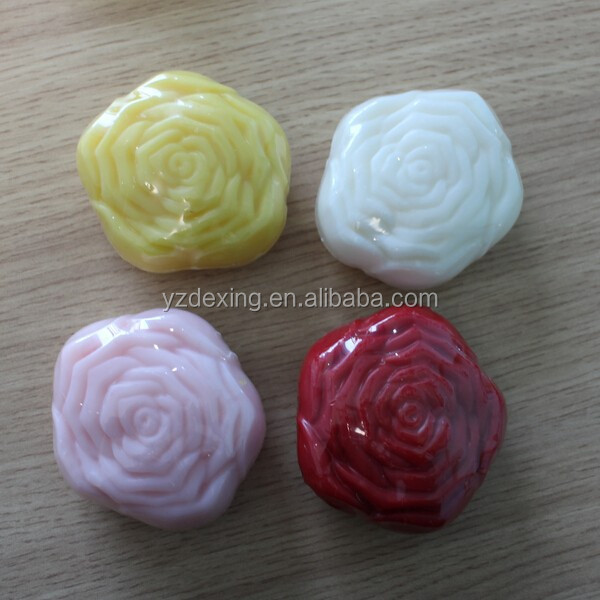 Different color Rose shape soap manufacturing companies