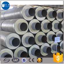 Construction materials api5l 8inch carbon steel pipe with pur foam filled and outer casing for Sri Lanka water pipeline system