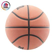 size 7 rubber made outdoor sport name brand outdoor basketball for match