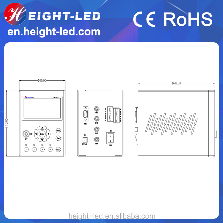 HTLD factory price high power uv led light curing for electronic components adhesion