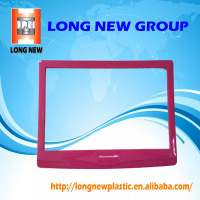 Plastic mould injection lcd screen cover electronic spare parts