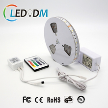 DC 12V SMD 5050 RGBW LED Strip Light Kit Including Remote Controller and Power Supply