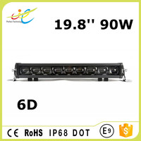 6D Single Row 90W LED Light