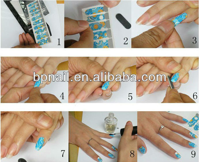 new nail foil sticker form beautyplus art nail