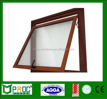 Canadian style aluminum top hung floor to ceiling windows made in China with CE