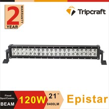 Car Accessories vegetable price list 21'' 120w Offroad Led Light Bar 12v led driving bar light, dual row light led 4x4 for truck