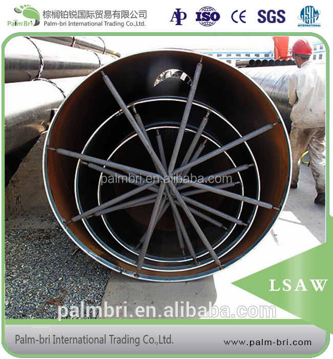 36 inch large diameter LSAW steel pipe price