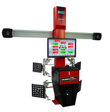 Higher accuracy 3D wheel aligner APL-S80
