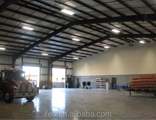 Prefabricated Industrial Sheds Steel Roof for Workshop