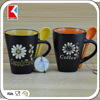 best selling creative mugs, ceramic cup factory, with spoon ceramic coffee mug
