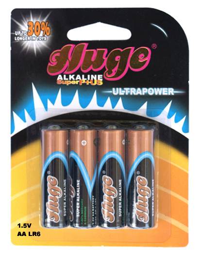 Durable factory price 1.5V aa lr6 am3 alkaline battery dry cell battery
