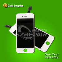 100% Good Quality For iphone 5 s 5S LCD Touch Screen Display Digitizer Assembly White / Black Color