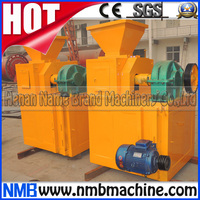 big capacity briquetting coconut shell wood biomass sawdust charcoal briquette machine, charcoal making machine