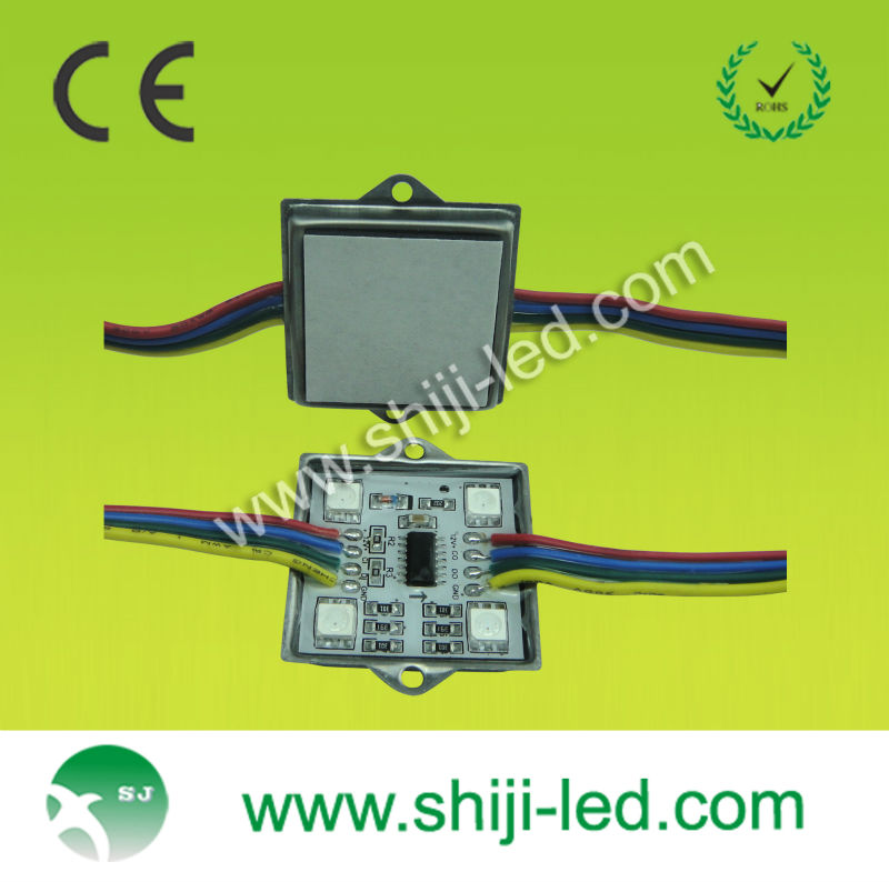 Shenzhen factory ABS 12V waterproof 4 chips 5050 smd led module