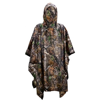 Rain poncho raincoat adult long