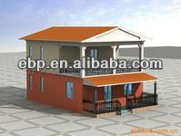 Good price prefabricated wood frame house