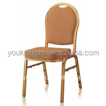 Gold wedding wholesale hall banquet stackable chairs event chair banquet chair