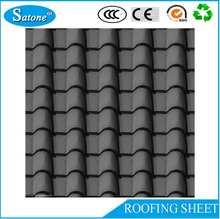 2016 Hot Sale Cheap glazed roof tile / corrugated steel roofing sheet / light steel roof panel