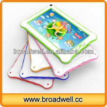 High Quality 2014 New Design RK3026 Dual Core Cortex A9 Android 4.2 7 inch Kids micro digit tablet with Parents Control