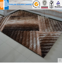 polyester materials 3d shaggy carpet popular in Brazil