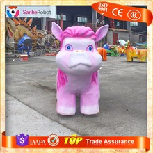 So Cute Horse Car !!! Coin Operated mechanical horse kids rides for sale