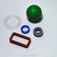 Custom Molded Solid Viton part / Silicone Rubber Ball