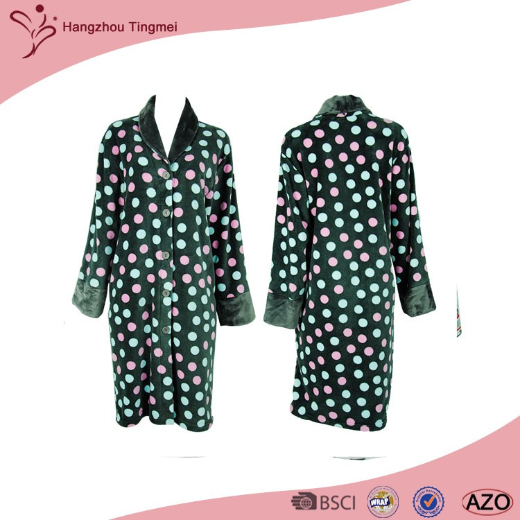 New Design Beautiful Manufacturer Comfortable Breathable Sleepwear