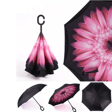 Wholesale custom various style cheap promotional inverted umbrella with printing logo