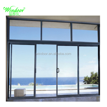 High-End factory popular aluminum exterior door for Luxury house decoration thermo break alumium door