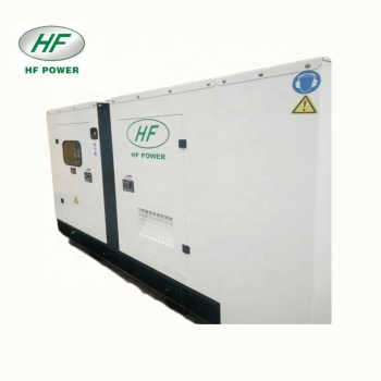 100kva silent type water cooled diesel generator set