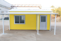 portable deployment cars type prefab house caravan