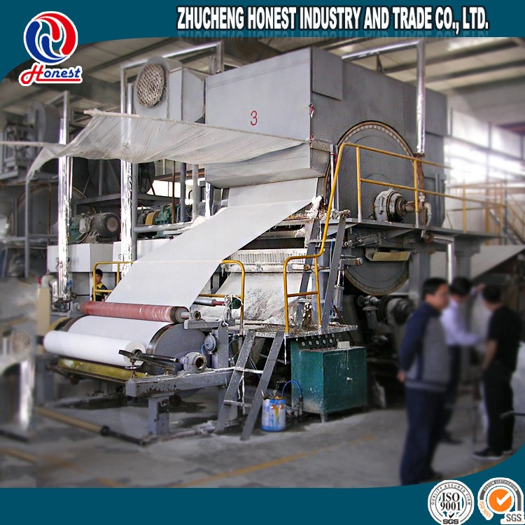 2400mm toilet paper hand towel making machine