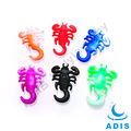 scorpion ear claw acrylic UV body piercing jewelry