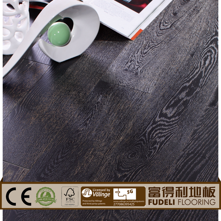 Hot Sale Quality T&G Natural Color Smooth Solid Oak oak 3 ply engineered floor