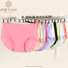 factory direct cheap nylon spandex One piece seamless comfortable panties for lady