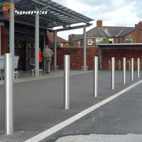 outdoor furniture high strength ornate stainless steel bollard