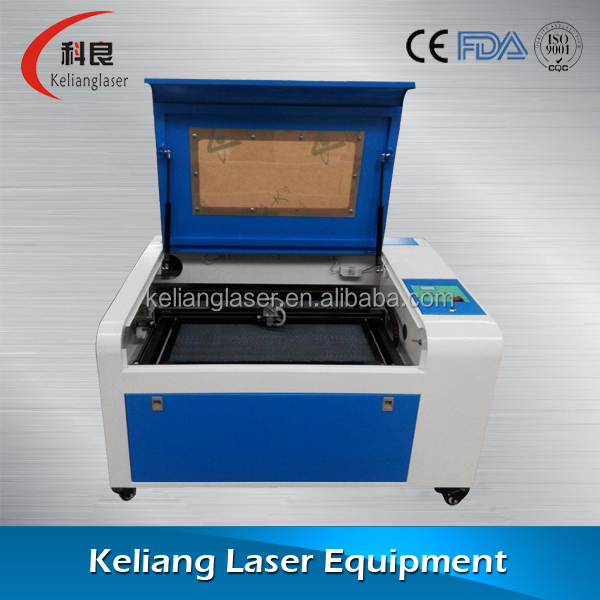 CO2 laser engraver with CE KL-350 with 50W