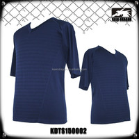 Men's Clothing Wholesale Plain Dark Blue Sports T Shirts