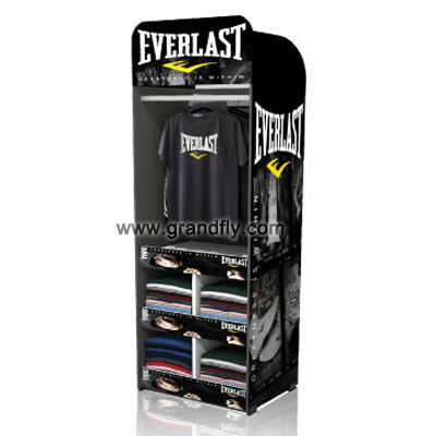 T-Shirt Clothing Cardboard Temporary Display Stand