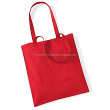 custom logo red handle cute printing net black cottons hopping bags/striped cotton shopping bags