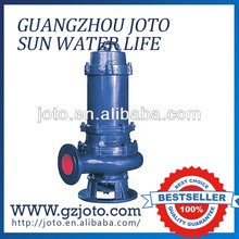factory use submersible sewage water pump for waste water treatment